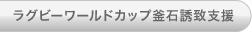 ラグビーワールドカップ釜石誘致支援