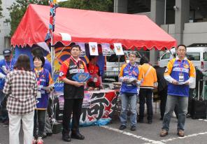 スクラム釜石サポーター募集活動の様子