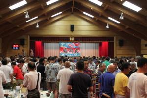 数百人の不惑ラガーマンが集結しました!
