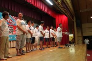 石山代表からご協力へのお礼を申しあげました。
