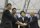 桜庭さん、平尾さん、嶋田副市長、佐々木さん